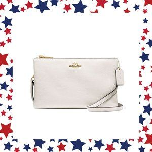 COACH Leather Lyla Crossbody Bag Clutch Purse
